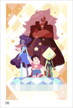 Steven and the Homeworld Gems (print), Hans Tseng