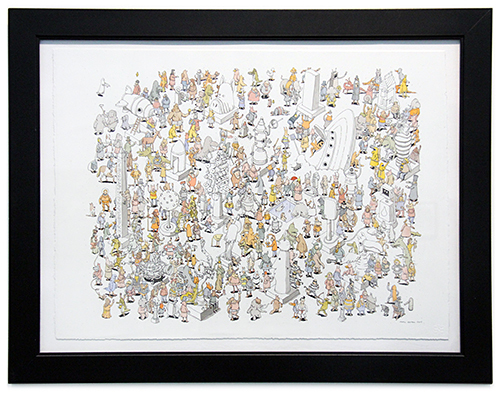 Waldo Has Left the Building , Mattias Adolfsson