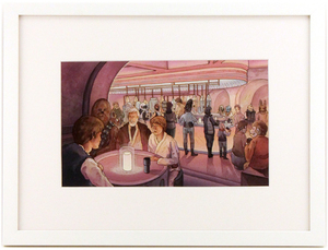 Meeting at the Cantina, Nicole Gustafsson