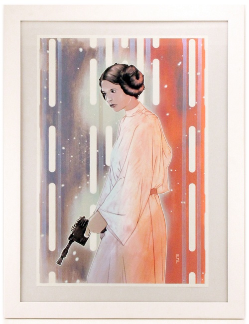 Princess Leia Organa, William Scott Forbes