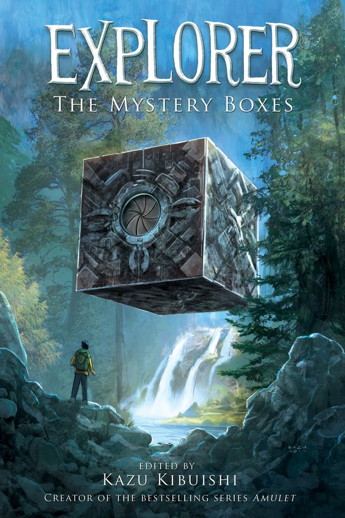 Explorer The Mystery Boxes, Kazu Kibuishi