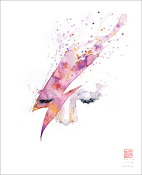 The Stars Look Very Different Today (Bowie), david  mack