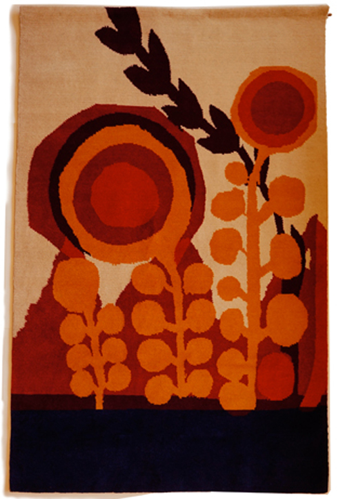 Chris Haughton Handwoven Rug (Mayan Orange), Chris Haughton