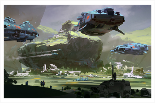 Colony, Sparth