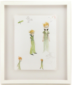 Little Prince Character Study, Chris Appelhans