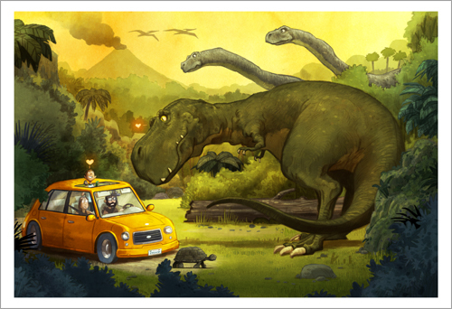 Are We There Yet - Page 10 (Dinosaurs), Dan Santat