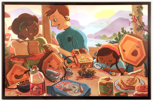 Family Breakfast, Cynthia Cheng