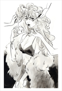 Snotgirl Cover (print), Leslie Hung