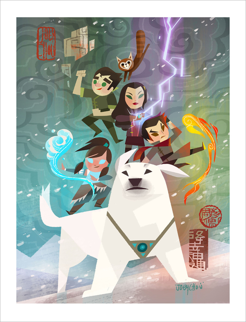 Legend of Korra, Joey Chou