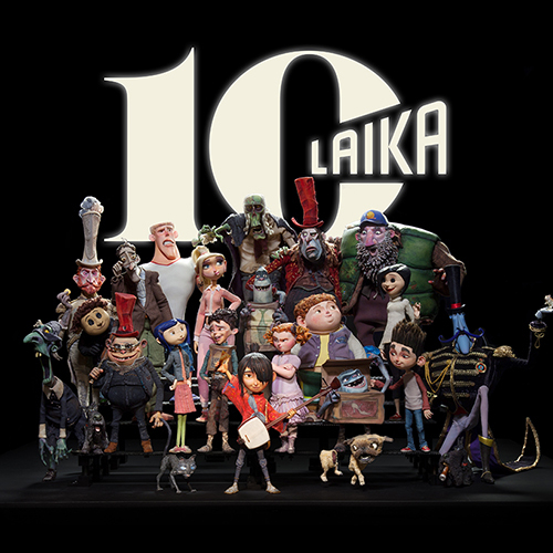 LAIKA 10yr Anniversary Exhibition / Halloween Party