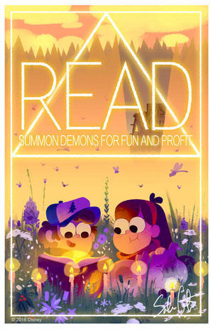A Normal Poster Encouraging Children to Read, Sabrina Cotugno