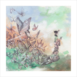 Butterflies (print), Mall