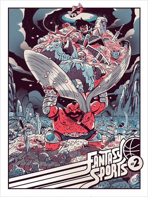Fantasy Sports 2 Poster, Sam Bosma