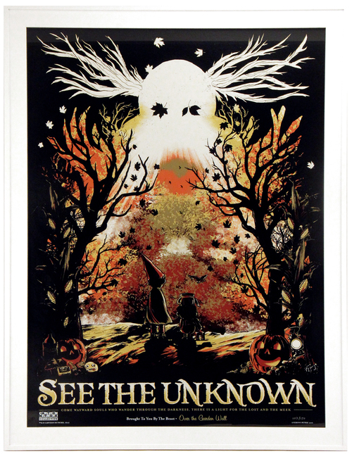 See the Unknown (Framed), Anthony Petrie