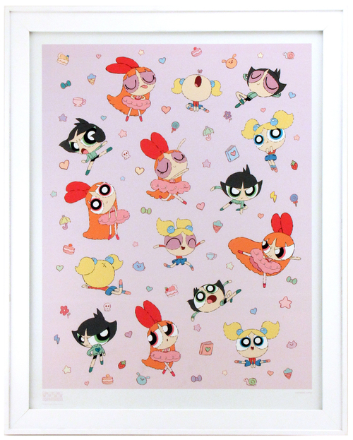 Powerpuff Girls (Framed), cheyenne curtis