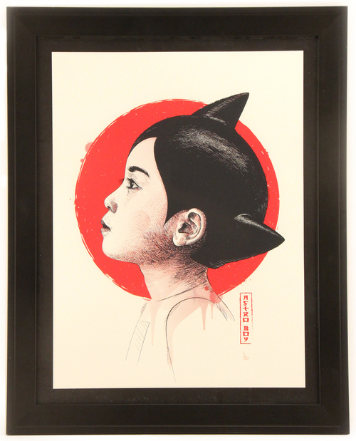 Astro Boy (framed), Guillaume Morellec