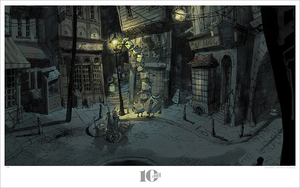 LAIKA Boxtrolls - Light Gathering, Michel Breton