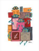 Boxes! (print), Oliver T Akuin