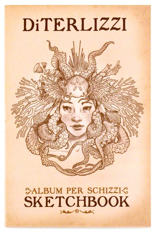 Tony DiTerlizzi Album Per Schizzi Sketchbook, Tony  DiTerlizzi