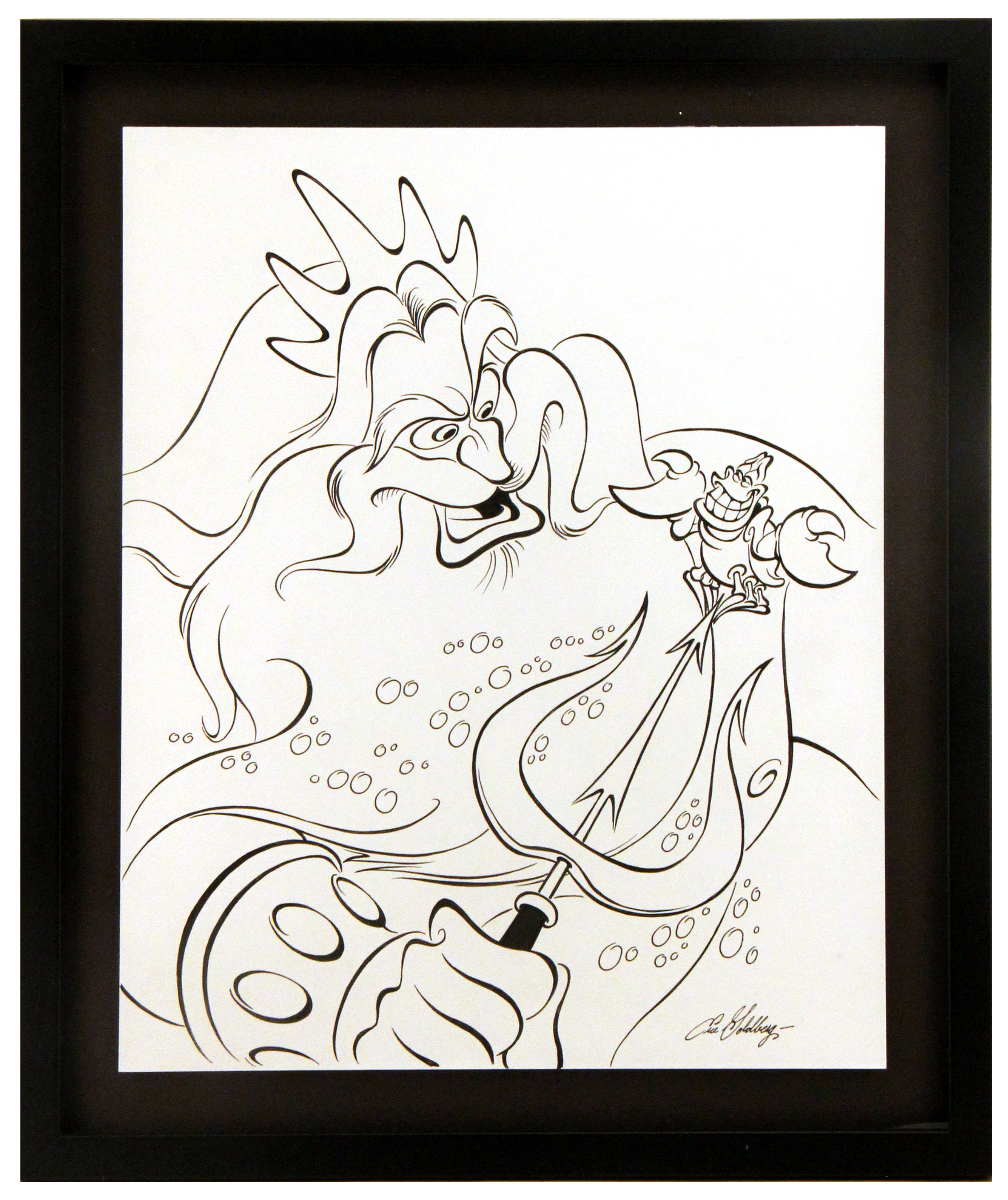 King Triton and Sebastian - Eric Goldberg, The Little Mermaid