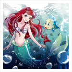 Under The Sea (print) Limited Edition of 50, Eri Kamijo