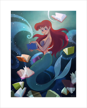 Ariel (print) Limited Edition of 50, jisoo kim