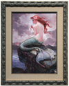 At Odds With the Sea - Lisa Keene (framed), The Little Mermaid