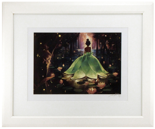 Bayou Princess (framed) Signed Hand-Embellished Limited Edition 1/50, Xinwei Huang