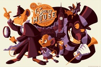 Cyclops Print Works #50: The Great Mouse Detective - Tom Whalen (print) Limited Edition of 275, The Great  Mouse Detective