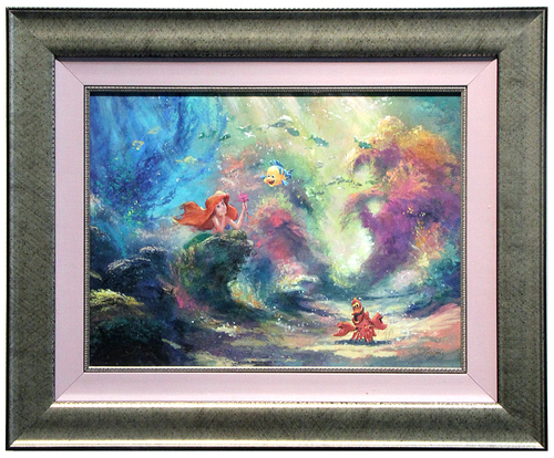 Dreaming - James Coleman (framed), The Little Mermaid