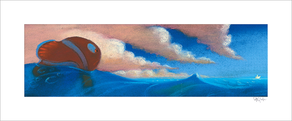 Sequence Pastel: Drop Off by Ralph Eggleston (Finding Nemo)