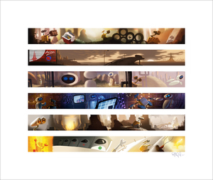 Wall•E Colorscript by Ralph Eggleston (Wall•E)