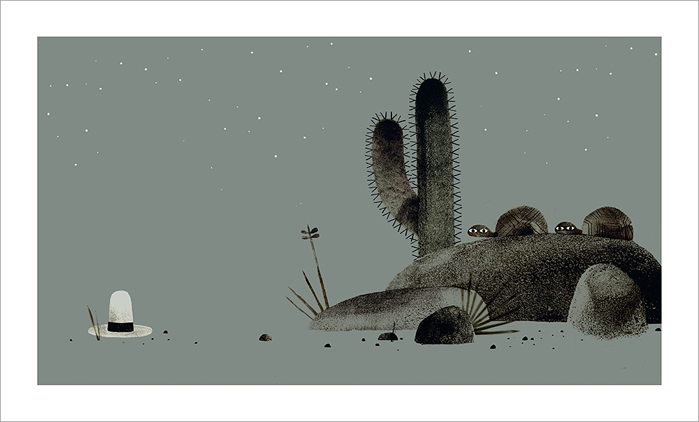 We Found A Hat - Page 34-35, Jon Klassen