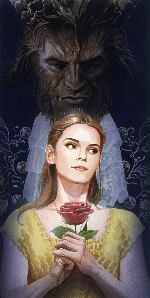 Alex Ross Beauty and the Beast (PRINT), Alex Ross