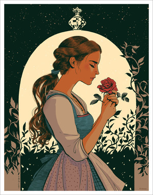 The Greatest Act of Love WARM (PRINT) (Belle, Beauty and the Beast), Jisoo Kim