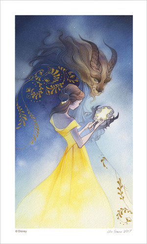 Beauty and the Beast (PRINT), Allie Strom