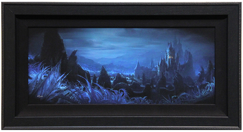 Shadows of Beast's Castle (framed), Beauty and the Beast  (2017)