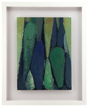 Green Abstract, Lou Romano