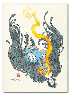 Ancient Magic (Howl's Moving Castle) - Print, Jed Henry