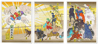 A God Mock's Creation (FFV) - Set of 3 Prints, Jed Henry