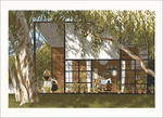 Eames House (giclee print), Chris Turnham
