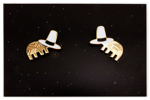 Jon Klassen We Both Have Hats - Nucleus Enamel Pin Set, Jon Klassen