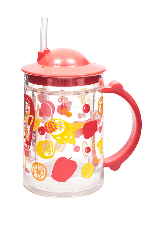 Juice Girl Straw Cup