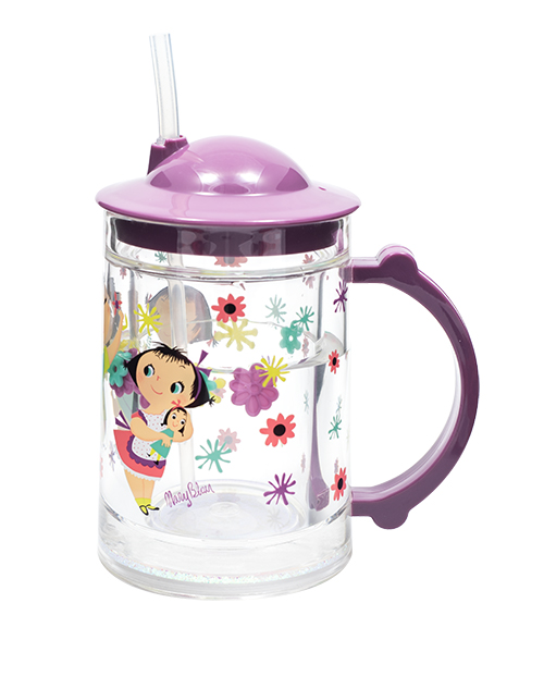 Doll Girl Straw Cup