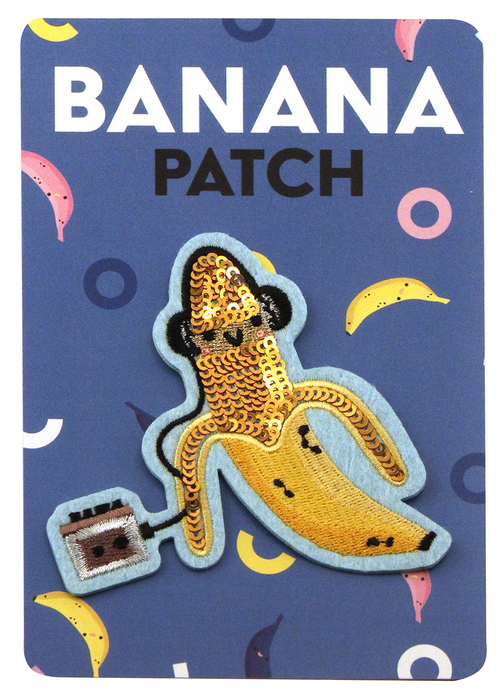 Sequin Banana Patch, Crowded Teeth