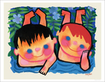 Boys in Blue, Mary Blair