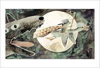 The Wolf, The Duck, & The Mouse Pg. 29-30 (print), Jon Klassen