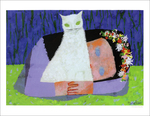 White Cat, Mary Blair