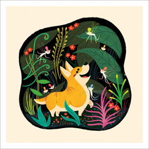 A Good Good Fairy Dog (PRINT), Andrew Kolb
