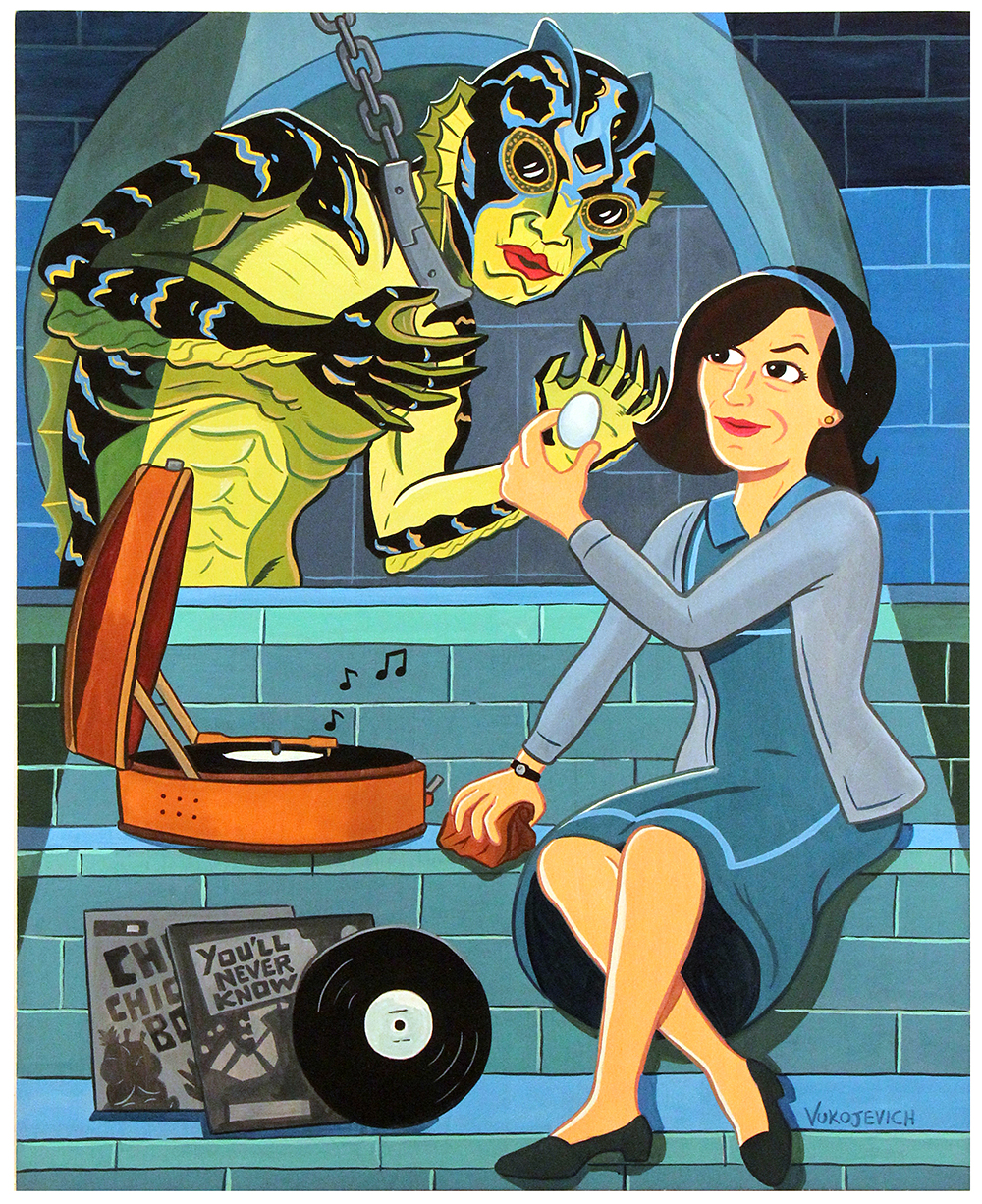 The Shape of Water, anthony vukojevich